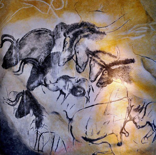 Etologic_horse_study,_Chauvet_cave