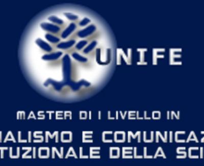 """Master on line in """"Giornalismo e comunicazione istituzionale della scienza"""" di Unife. Aperte le iscrizioni"""