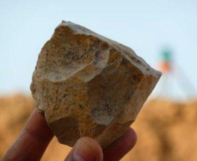 Gli utensili di pietra più antichi dell'Africa del Nord